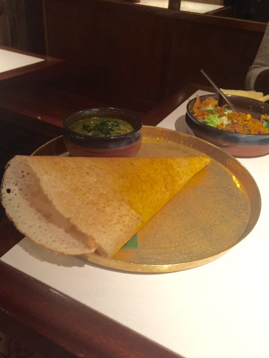 Chicken kari & dosa