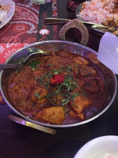 Chicken kadhai